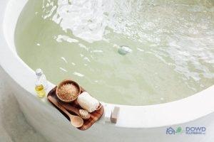 Clogged Bathtub