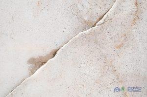 A Cracked Concrete Foundation